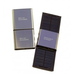Cell Phone Metallic Solar Charger: 8 units/Case
