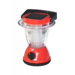 Solar Powered Camping Red Lantern for Children: 1 unit/Package