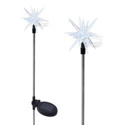 A pack of Two Starburst Solar Garden light: 24 units/Case