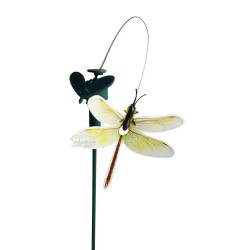 Solar or Battery Powered Fluttering Dragonfly Yard Stake: 72 units/Case