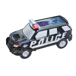 Solar Police Car with Versatile Wheel: 24 units/Case