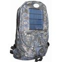 Camouflage Backpack and Cell Phone Solar Charger: 5 units/Case