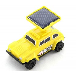 5021 Solar Yellow Hummer Race Car Assembly Kit for age 8+: 18 units/Case