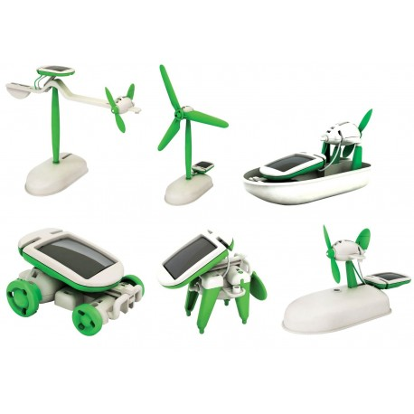 Solar Renewable Energy 6 in 1 Kit for age 10+: 18 units/Case