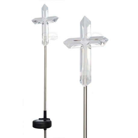 Cross Solar Garden Lights: 3 units/Package