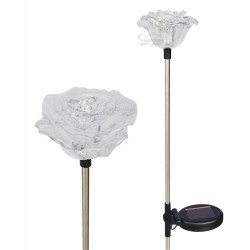 A pack of Two Roses Solar Garden Lights: 24 units/Case