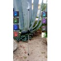 A Pack of Two Moon Solar Garden Stake Lights: 24 units/Case